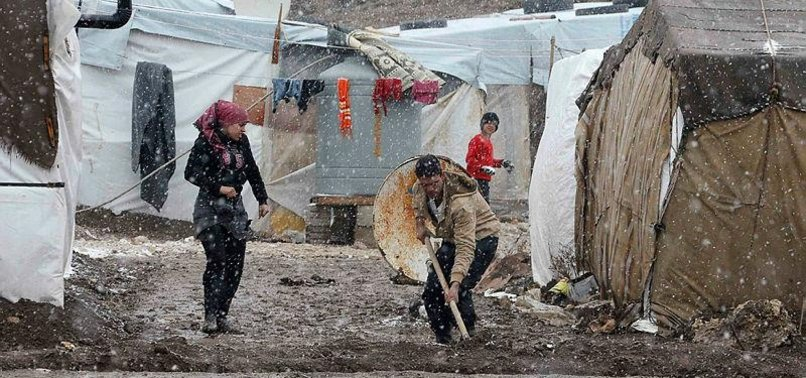 15 SYRIAN REFUGEES FROZEN TO DEATH IN LEBANON