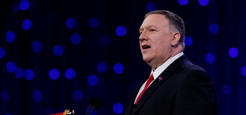 POMPEO IN BRUSSELS FOR TALKS WITH EU, NATO LEADERS