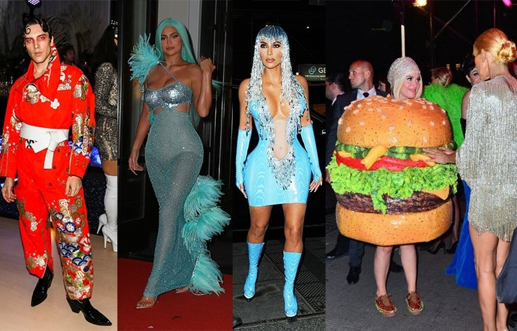 Met Gala After Party'den çılgın kostümler!