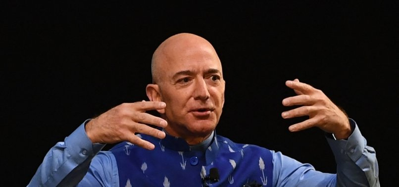 AMAZON FOUNDER JEFF BEZOS FLYING TO SPACE ON JULY 20