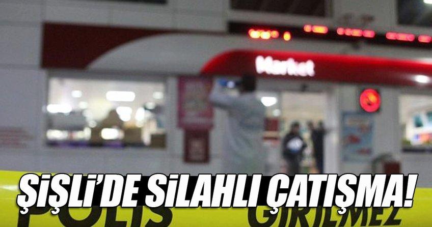 Şişli'de akaryakıt istasyonuna soygun girişimi