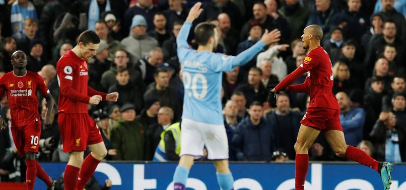 LIVERPOOL TAKE CONTROL OF TITLE RACE IN PL AFTER 3-1 WIN OVER MAN CITY