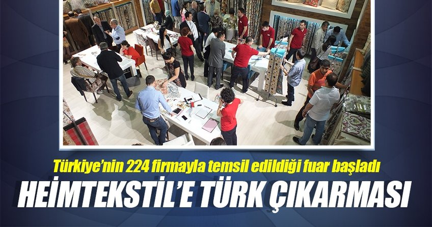 244 Türk firması Heimtekstil'de