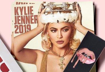 Kylie Cosmetic'in göz alıcı makyaj ürünleri