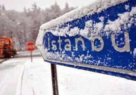 İstanbul'a Kar geri geliyor...