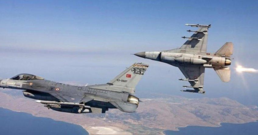 Türk savaş uçakları DAEŞ'e ait 3 hedefi imha etti