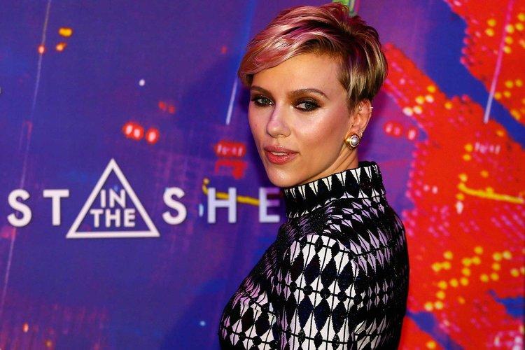 Scarlett Johansson galaya katıldı