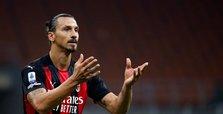 Milan forward Ibrahimovic tests positive for COVID-19