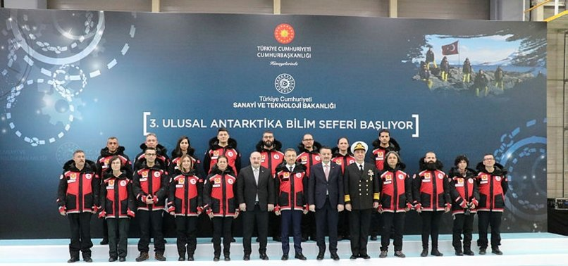 TURKISH TEAM TO LEAVE FOR ANTARCTICA FOR WORLD'S FUTURE