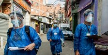 Brazil reports 814 coronavirus deaths on Saturday