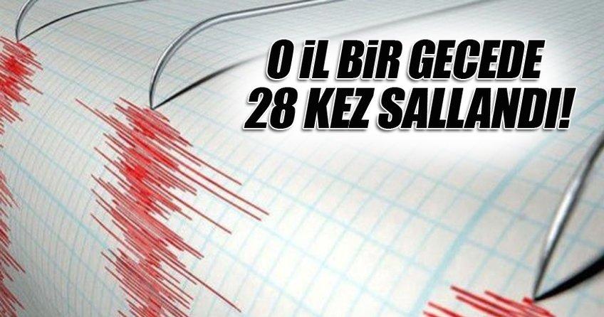 Yalova'da 3.7 büyüklüğünde deprem