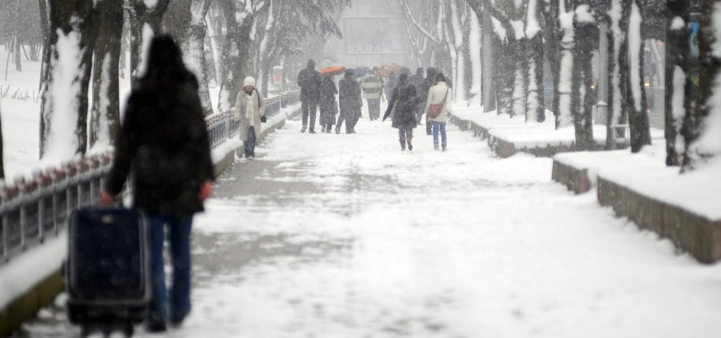 ISTANBUL TO WELCOME SEASON'S FIRST SNOWFALL THIS WEEKEND