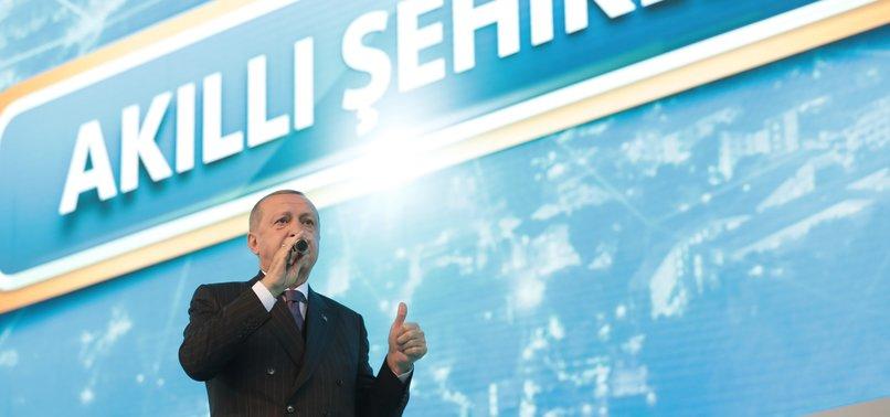 PRESIDENT ERDOĞAN UNVEILS AK PARTY'S ELECTION MANIFESTO
