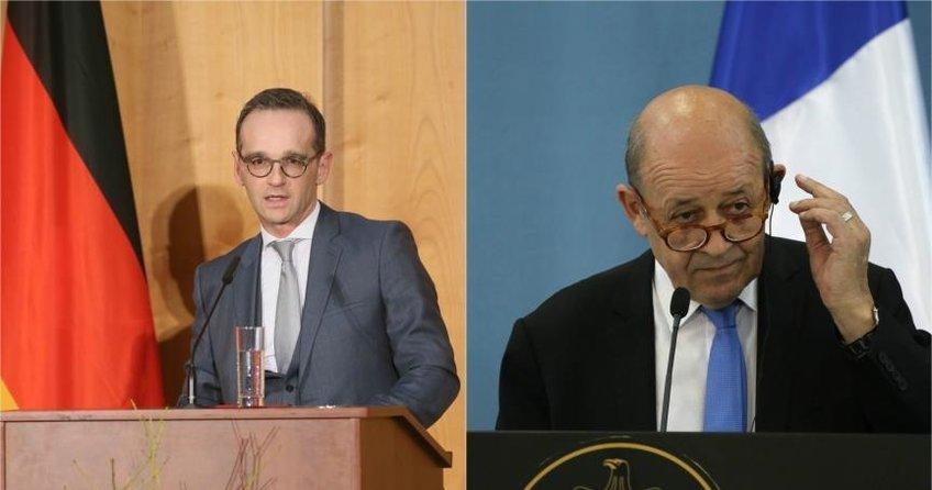 Almanya ve Fransa Dışişleri Bakanlarından İsrail ile dayanışma mesajı