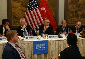 Cumhurbaşkanı Erdoğan ABD'de dünya devlerini kabul etti