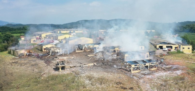 4 DEAD, 97 INJURED IN BLAST AT TURKISH FIREWORKS FACTORY