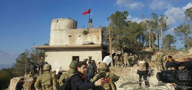 STRATEGIC MT. BURSAYA IN AFRIN CLEARED OF PYD/PKK TERRORISTS