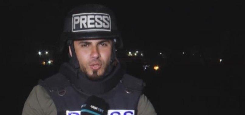 Israeli rocket scrapes TRT reporter in Gaza