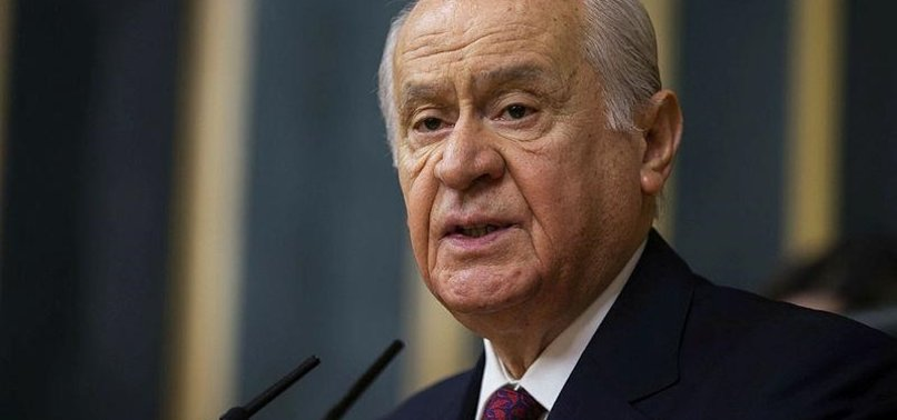 MHP CHIEF BAHÇELI URGES ACTION AGAINST SUSPENDED MAYORS