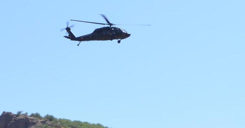 Tunceli Pülümür'de helikopter düştü! Kurtarma ekipleri zamanla yarışıyor