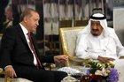 Erdoğan, çözüm turuna Suudi Arabistan'dan başladı