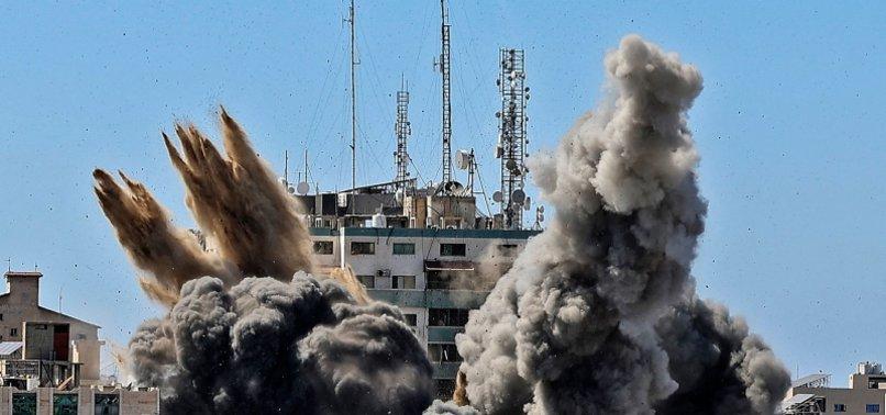 INTERNATIONAL PRESS INSTITUTE SLAMS ISRAELI AIRSTRIKE ON GAZA MEDIA HOUSE