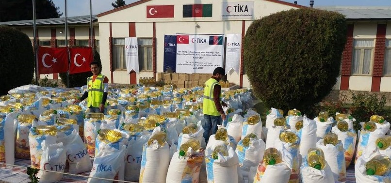 TIKA PROVIDES FOOD AID TO FAMILIES VICTIMIZED BY WAR IN AFGHANISTAN
