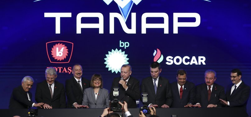 TANAP-EUROPE CONNECTION OFFICIALLY INAUGURATED IN TURKEYS EDIRNE