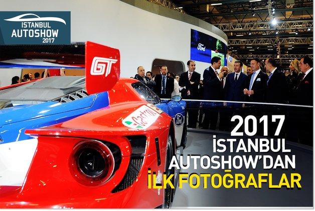 2017 İstanbul Autoshow'dan ilk fotoğraflar