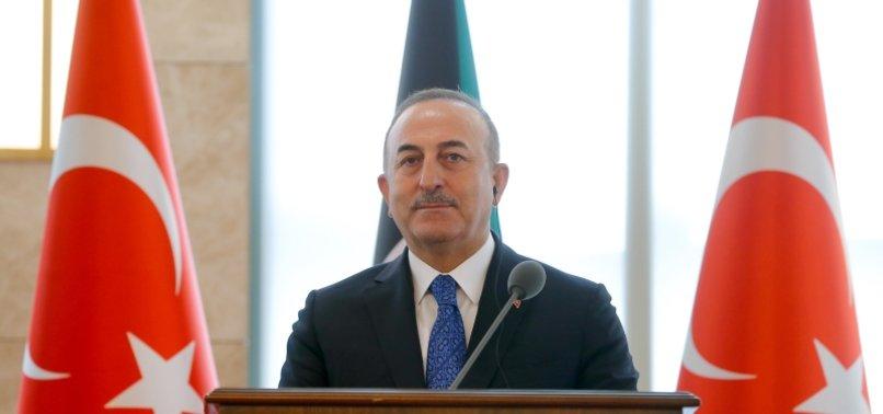 TURKISH FM ÇAVUŞOĞLU: CRITICISM LEVELLED AGAINST TURKEY FOR DIPLOMATIC BLUNDER UNFAIR