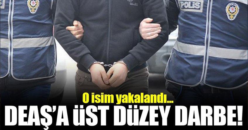 DEAŞ'ın üst düzey yöneticisi yakalandı!