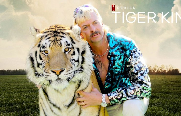 Ünlülerin favorisi Tiger King belgeseli Netflix'in açık ara en çok izlenen orijinal dizisi oldu.
