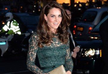 Kate Middleton'ın sanat şıklığı