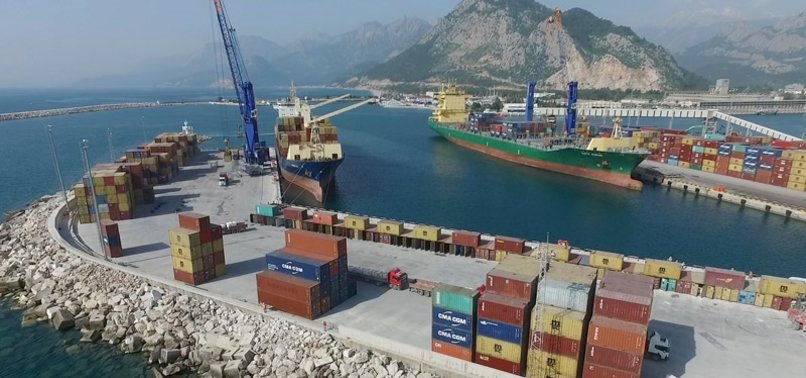 QATARS FIRM BUYS TURKISH PORT IN ANTALYA