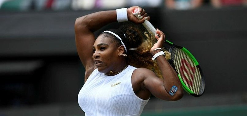 WILLIAMS FINED $10K FOR DAMAGING PRACTICE COURT