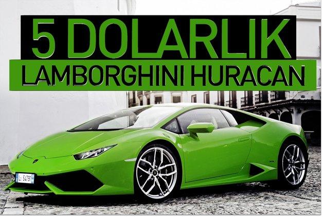 5 Dolara Lamborghini