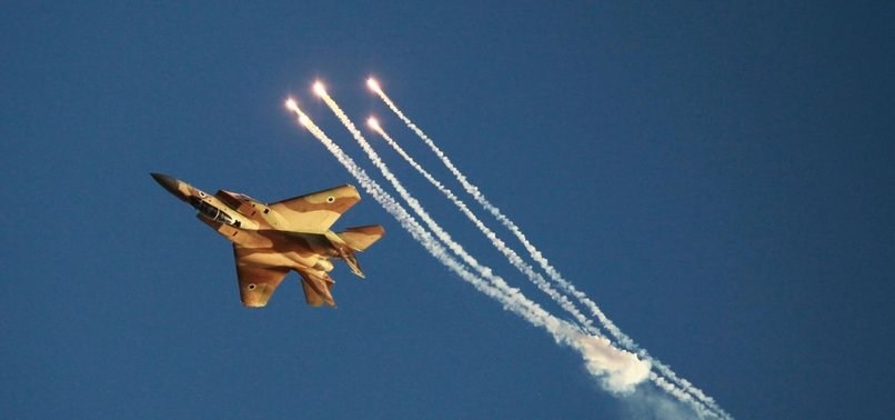 ISRAELI AIRSTRIKES HIT 3 MILITARY POSITIONS IN S.SYRIA