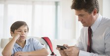 'Parents' excessive use of technology affects children'