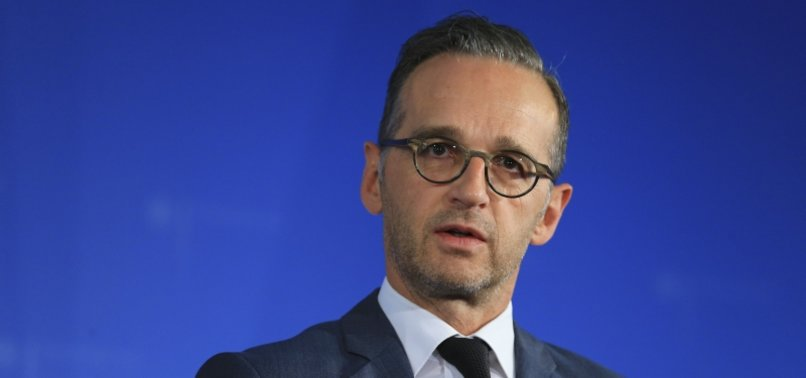 GERMANYS MAAS CALLS ATTACKS ON CIVILIANS IN IDLIB WAR CRIMES