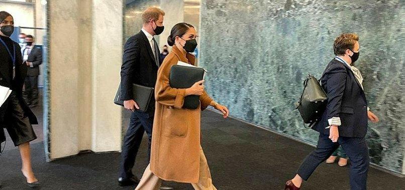 WHEN HARRY - AND MEGHAN - MET THE U.N. CHIEF IN NEW YORK