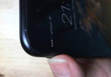 Siyah iPhone 7'de boya atma sorunu mu var?