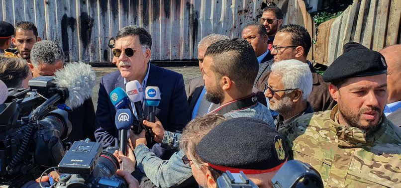 UN-BACKED GOVERNMENT IN LIBYA SUSPENDS TALKS AFTER ATTACK ON TRIPOLIS STRATEGIC PORT