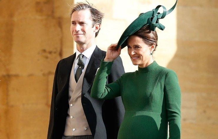 Kate Middleton'ın kardeşi Pippa Middleton, doğum için Londra'daki St Mary's Hospital'daki Lindo Wing Kliniği'ne yatış yaptı.