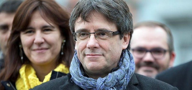 SPAIN WANTS EXILED EX-CATALAN LEADER ARRESTED IF HE TRAVELS TO DENMARK