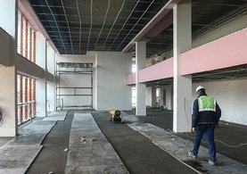 Darbecilerin yargılanacağı 545 kişi kapasiteli salon inşaatı bitiyor