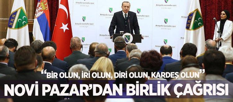 Cumhurbaşkanı Erdoğan Sırbistanda Sancak bölgesini ziyaret etti