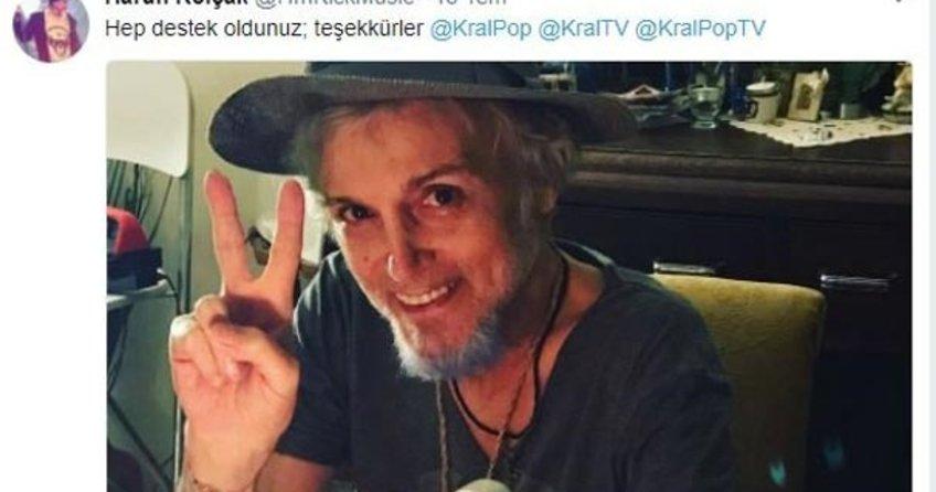 Ünlü sanatçı Harun Kolçak'ın son paylaşımları duygulandırdı
