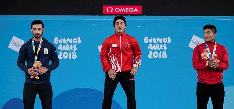 TURKEY WINS GOLD IN WEIGHTLIFTING IN YOUTH OLYMPICS