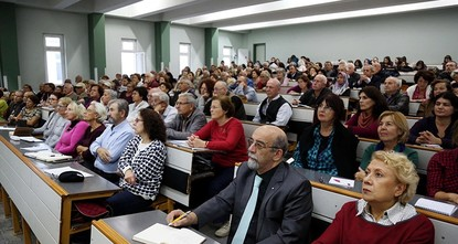 pStudents studying at Turkey's first Senior Citizen University, which accepts only students over the age of 60, have started their first year of education after attending preparatory...