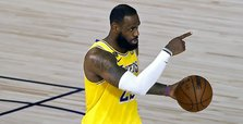 LeBron brushes off Trump blast: 'We could care less'